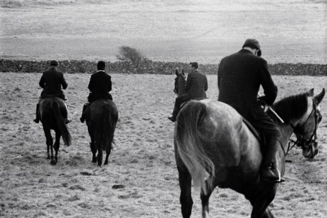 IRLANDA - 1 – Caccia alla volpe, Connemara, Irlanda del Nord, 1961