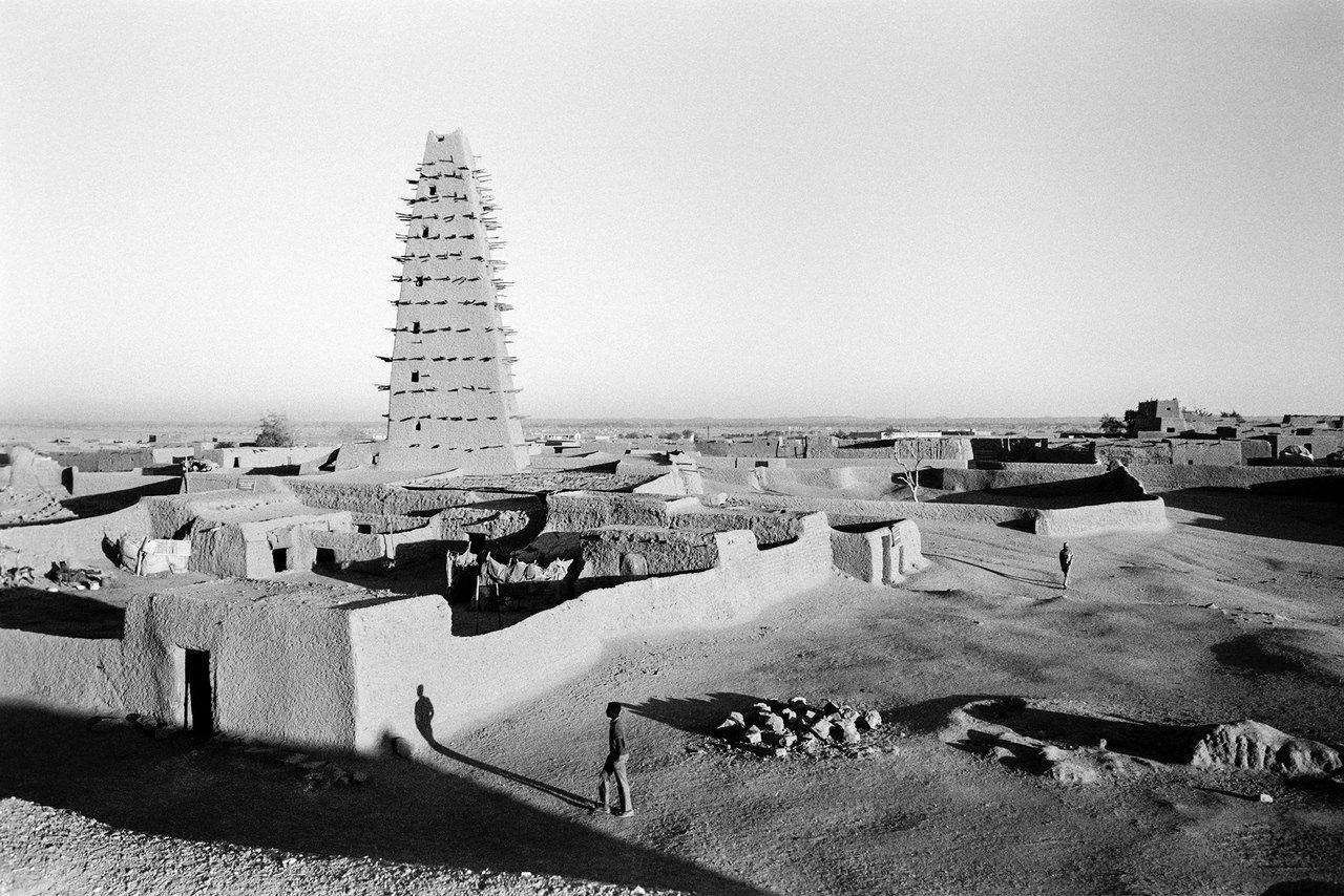 010 La torre, Agadez, Niger, 1978