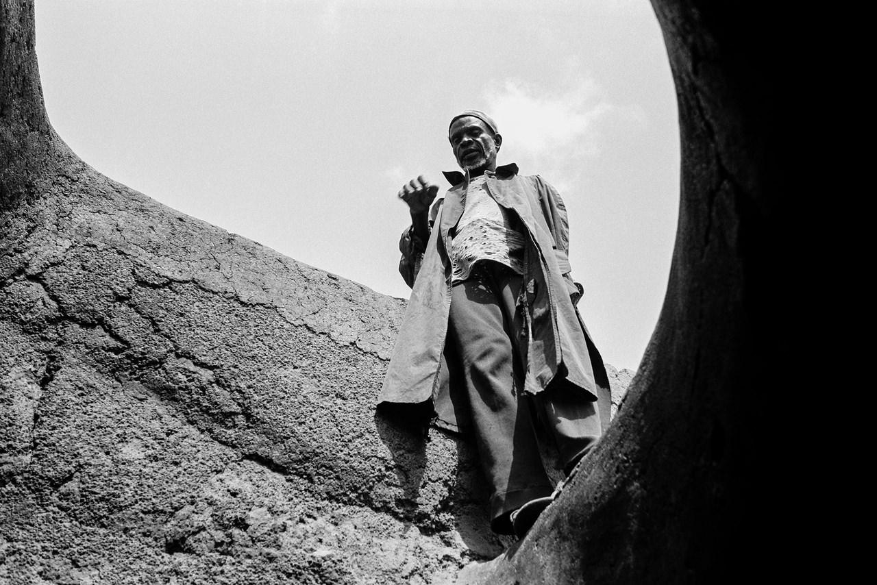 Anziano del villaggio, Lobi, Costa d'Avorio