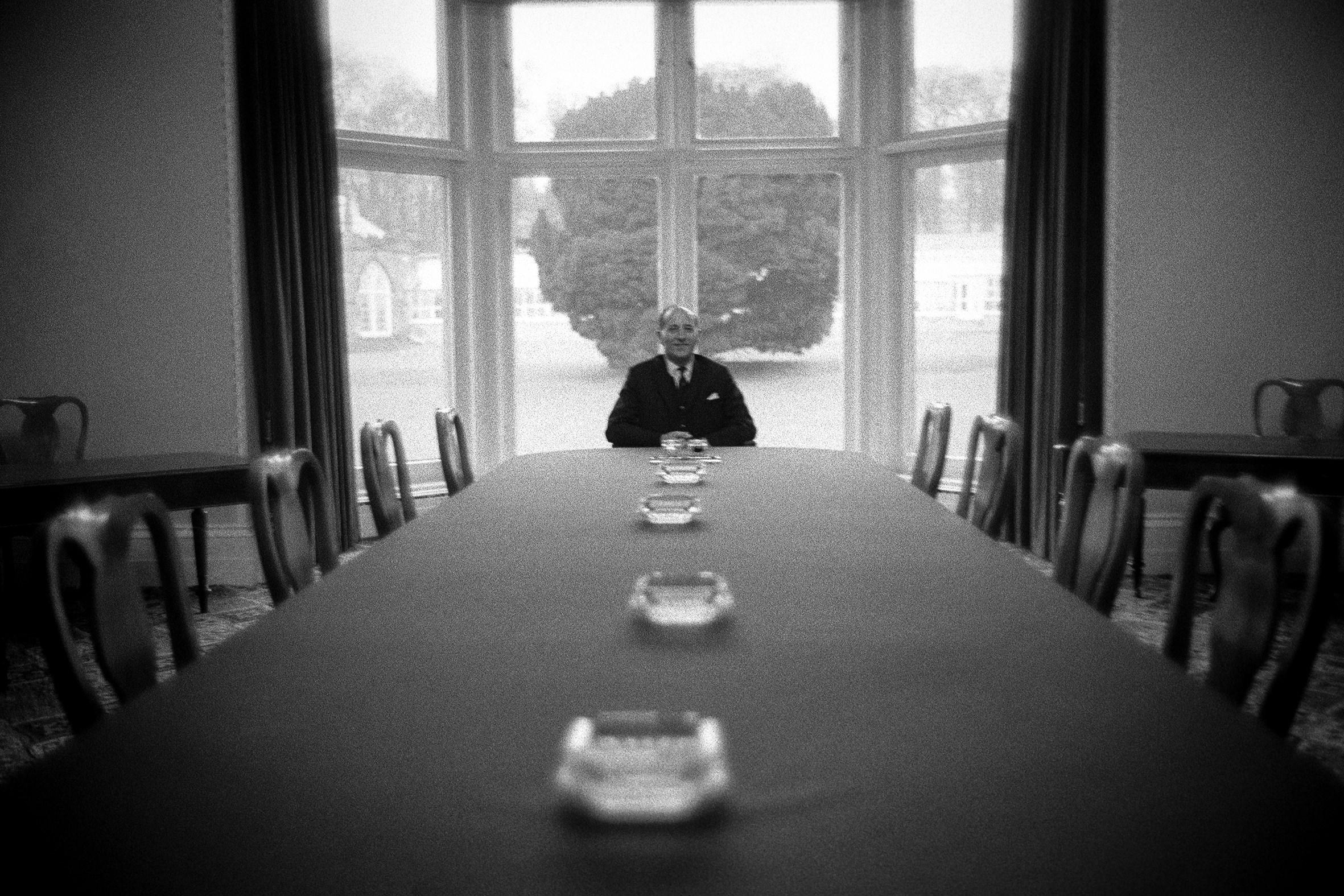 IRLANDA - 3 – Il quarto Primo Ministro dell'Irlanda del Nord Terence O'Neill, Belfast, 1968