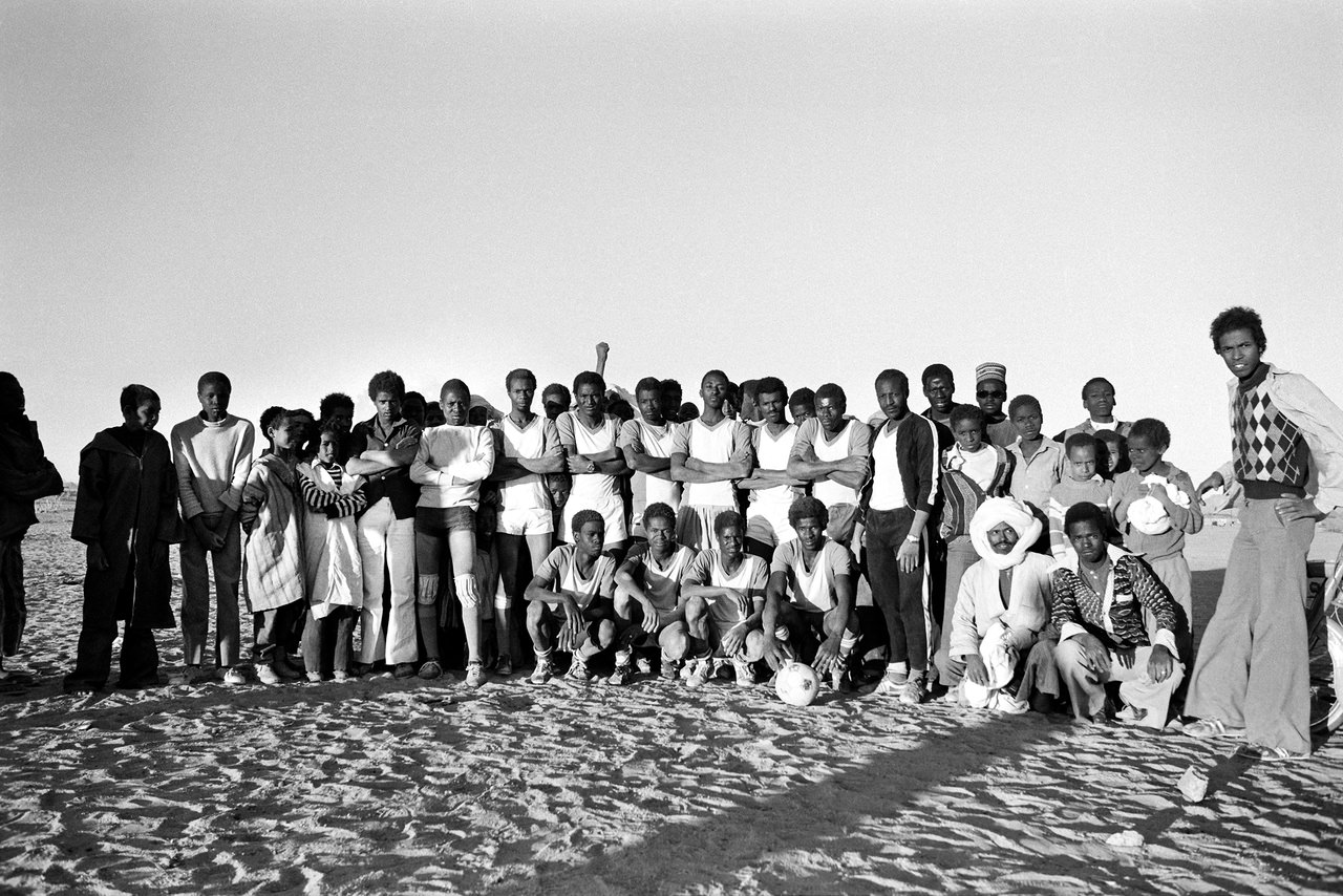 033 Calcio nel deserto, Tamanrasset, Algeria, 1978