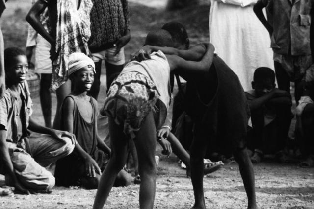 AFRICA - 5 – Lotta senegalese, Dakar, Senegal, 1970