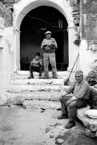 SCUOLA - 6 – Eredità, Senis, Sardegna, 1964