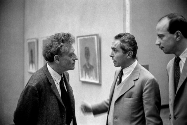 ARTISTI - 7 – Alberto Giacometti alla Biennale di Venezia, 1962
