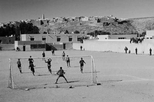 AFRICA - 9 – Partita di calcio, Tamanrasset, Algeria, 1978