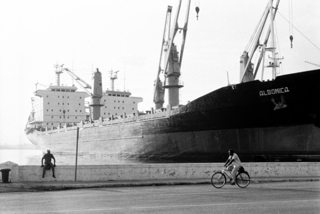 CUBA - 10 – Sul Malecon, L'Avana, 1992