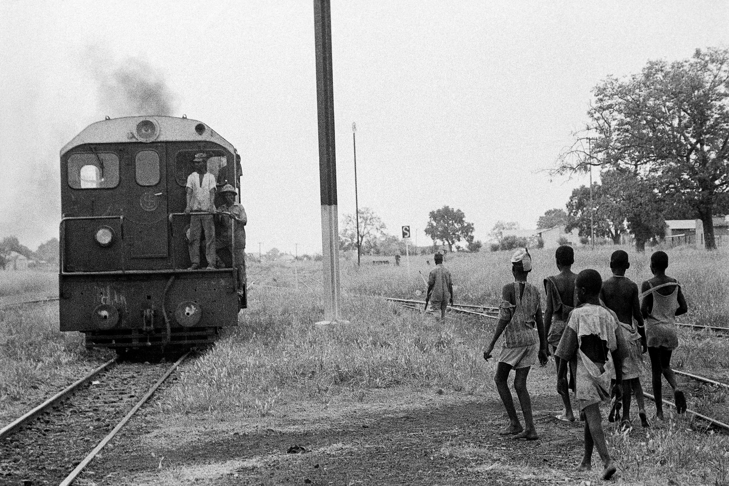 AFRICA - 10 – In viaggio, Tambacounda, Senegal, 1970