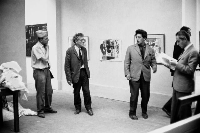 Alberto Giacometti (1901-1966) Lo scultore alla Biennale Venezia, 1962