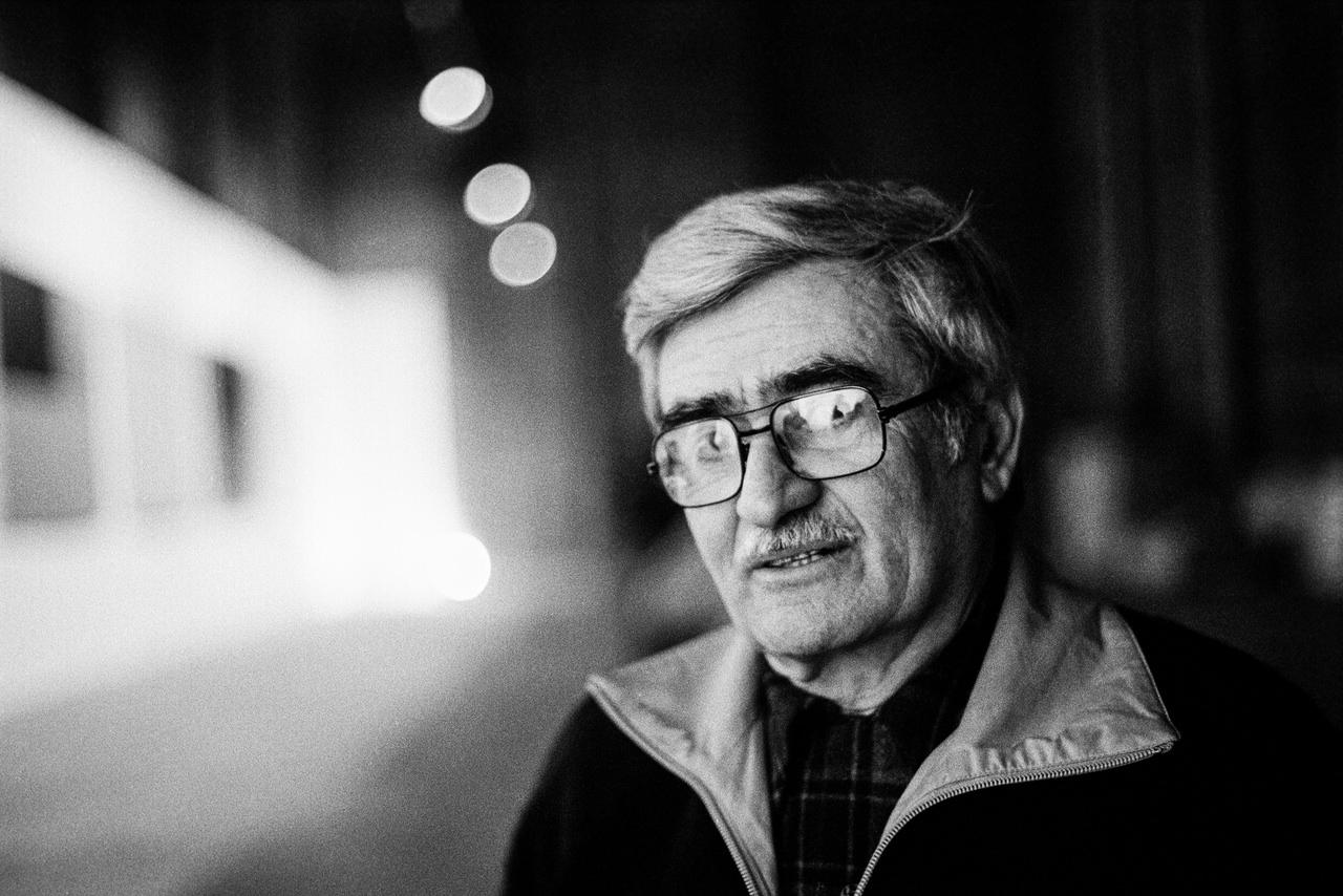 Alberto Burri (1915-1995) L'artista nella sua Fondazione Città di Castello, anni '70